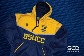 Club Hoodie in Yellow and Blue